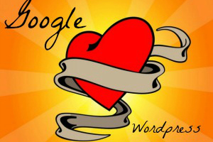 Google ♥ WordPress